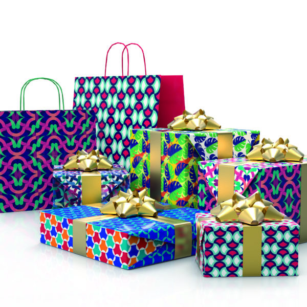 Papel de regalo HQ doble cara Patterns