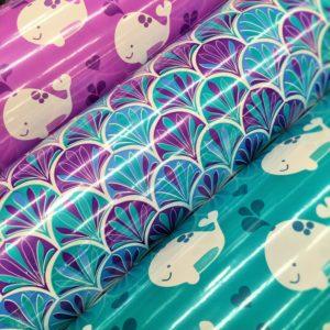 bobinas papel regalo